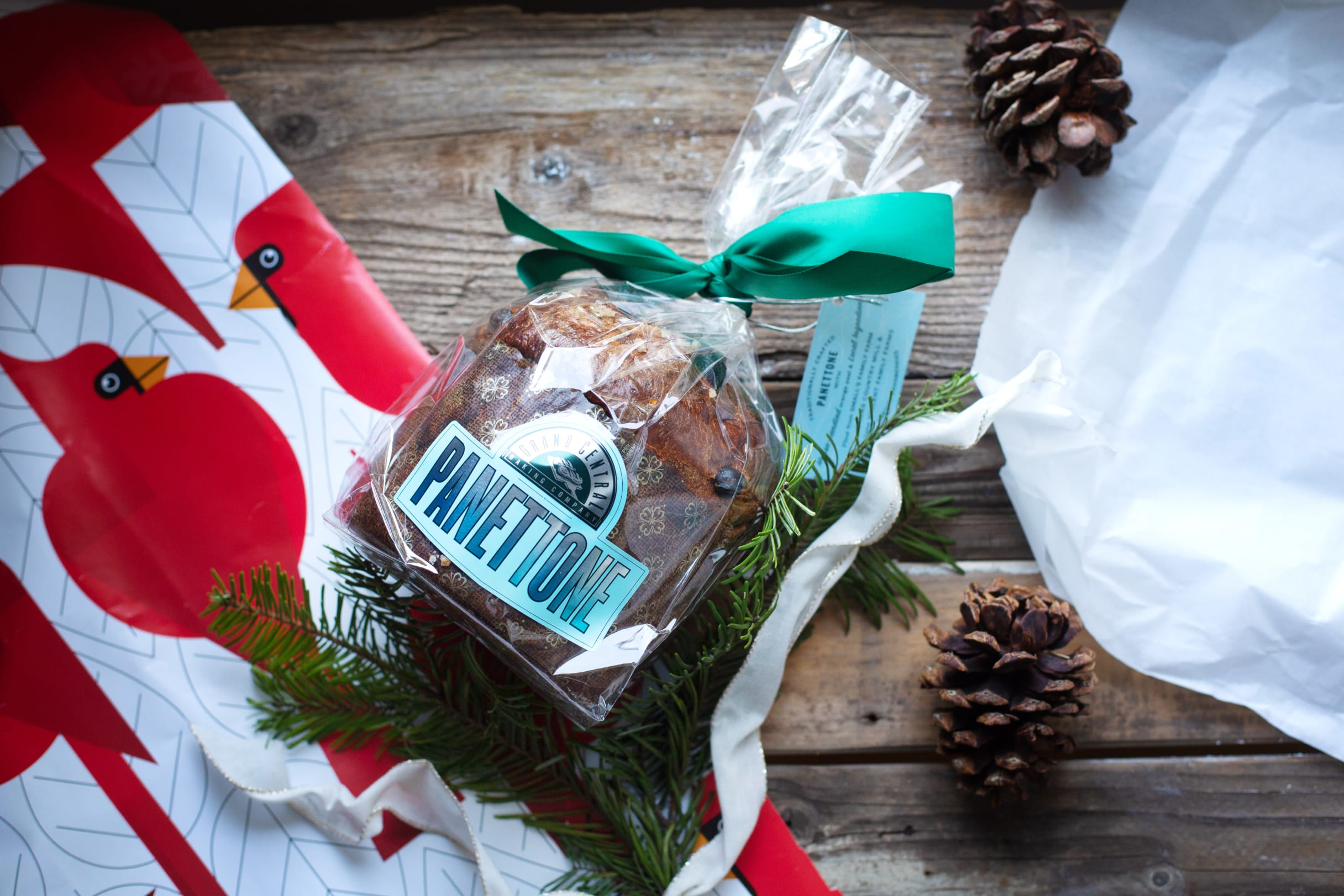 Panettone holiday bread