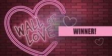wall of love winner slider