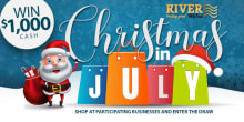 christmas in july slider