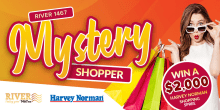 River 1467 Mystery Shopper