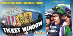 power ticket window Ride Like a Girl