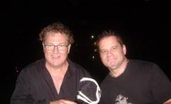 Ross Wilson and Shaun Stokie