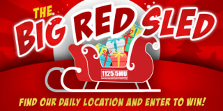 big red sled slider