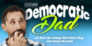 democratic dad slider