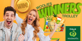 woolies winners trolley slider