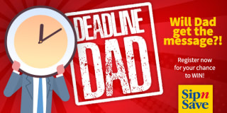 deadline dad slider