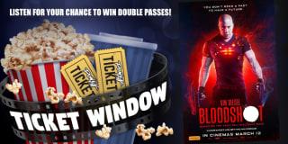 powerfm power ticket window bloodshot slider