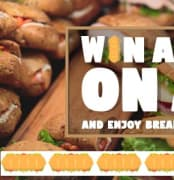 Slider Win a Meal on Air Subway