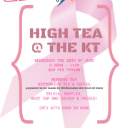 High Tea @ the KT