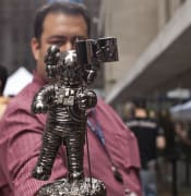 The new MTV VMA Moonman designed by KAWS Studio