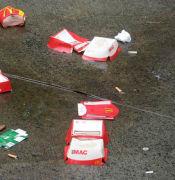 Maccas litter