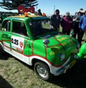 1958 Goggomobil T400 sedan - Variety Club Bash rally car