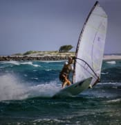 back when i was healthy and a windsurfing junky at Elliott Heads back 15 years ago.