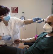 24.03.2020, Barcelona.Coronavirus Covid-19 crisis..Banc de Sang de l