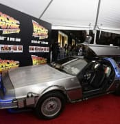 DeLorean widow sues over film