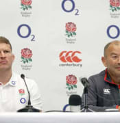 England captain Dylan Hartley (left) and manager Eddie Jones.jpg