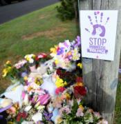 Hannah Clarke tributes Brisbane AAP DO NOT REUSE