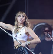 File photo dated 30/06/19 of Miley Cyrus, who has said she is still sexually attracted to women, despite being married to a man.. Issue date: Thursday July 11, 2019. The singer, 26, and Hunger Games actor Liam Hemsworth wed late last year. See PA story SHOWBIZ Cyrus. Photo credit should read: Aaron Chown/PA Wire