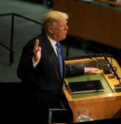 Donald Trump speaks at The United Nations