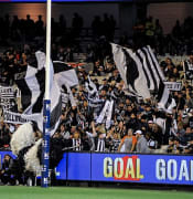 Collingwood cheer squad.2