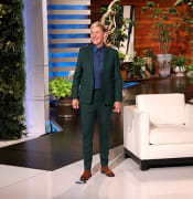 Handout photo supplied by Michael Rozman/Warner Bros showing Ellen DeGeneres on the set of her show. Picture date: Thursday May 13, 2021. See PA story SHOWBIZ DeGeneres. Photo credit should read: Michael Rozman/Warner Bros./PA Wire