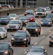 cars on highway pixabay