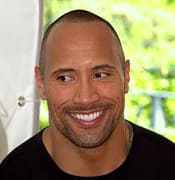 Dwayne The Rock Johnson eyes trees 2009 portrait