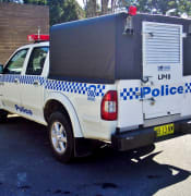police paddy wagon