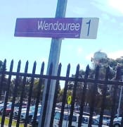 WENDOUREE TRAIN STATION CAR PARK VLINE 2018 09 22 13.54.53