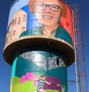 Snowtown Water Tower Art