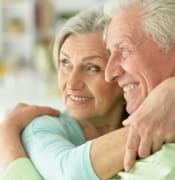 Old couple image
