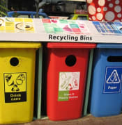 NEA recycling bins Orchard Road