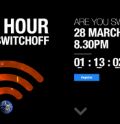 earth hourcount down