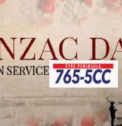 ANZAc 5cc service