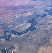 Aerial view of the Darling River wikicommons