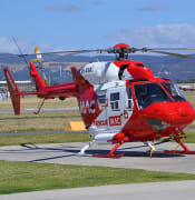 MAC air helicopter ambulance in Adelaide by Alec Wilson wikicommons