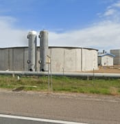 tailem bend waste water treatment plant from google maps