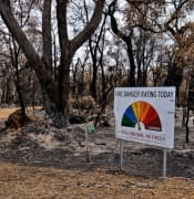 bushfire sign burnt australia trees warning pxfuelcomenfreephotoxcxtj