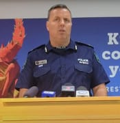 Assistant Commissioner Ian Parrott Officer in Charge of SAPOLs State Operations Service