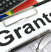 Grant stock image