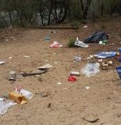 plastic bags Murray River