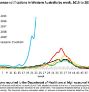 flu chart backup data