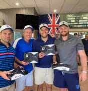 Barmera Ambrose golf day winners