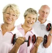 older ppl exercising