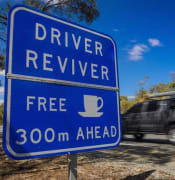 driver reviver australia sign