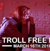 Troll Free Day 2018