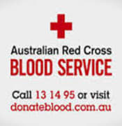 red cross blood