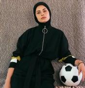 Female soccer rplayer