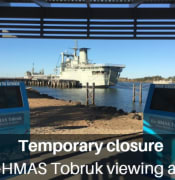 tobruk viewing area