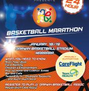 60063 CHT Basketball Marathon A3 Poster 1